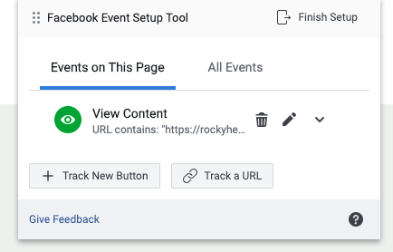 Facebook Events Setup Tool